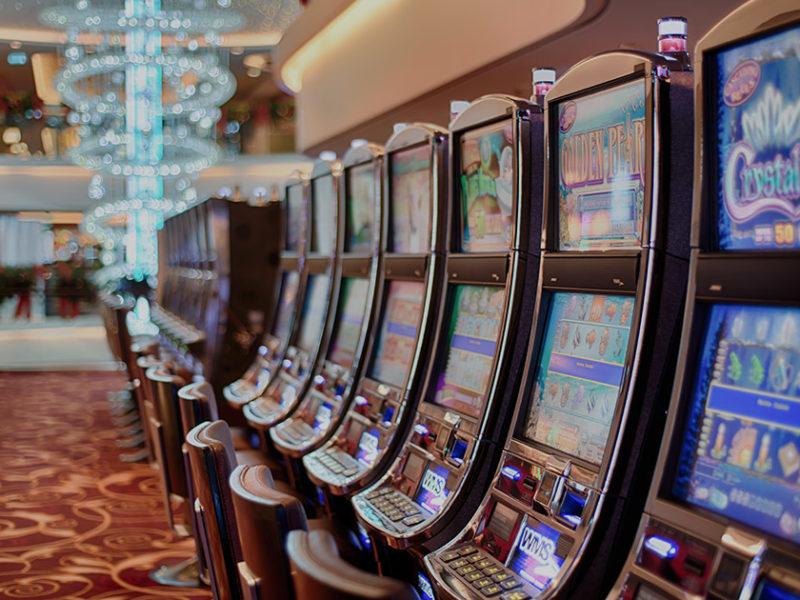 Gaming slot machines